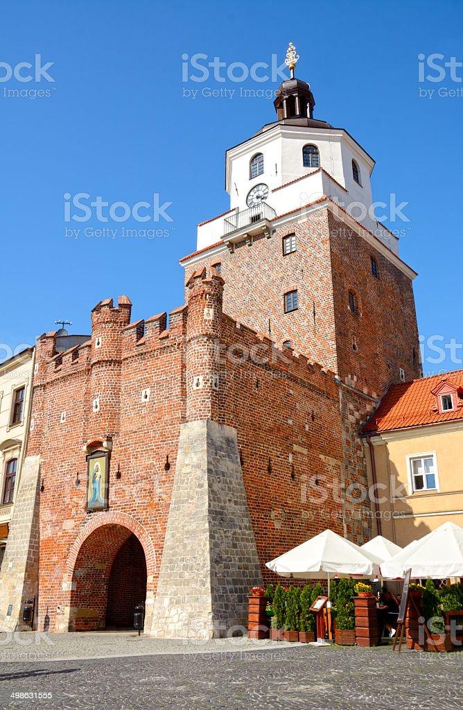 Lublin stock photo