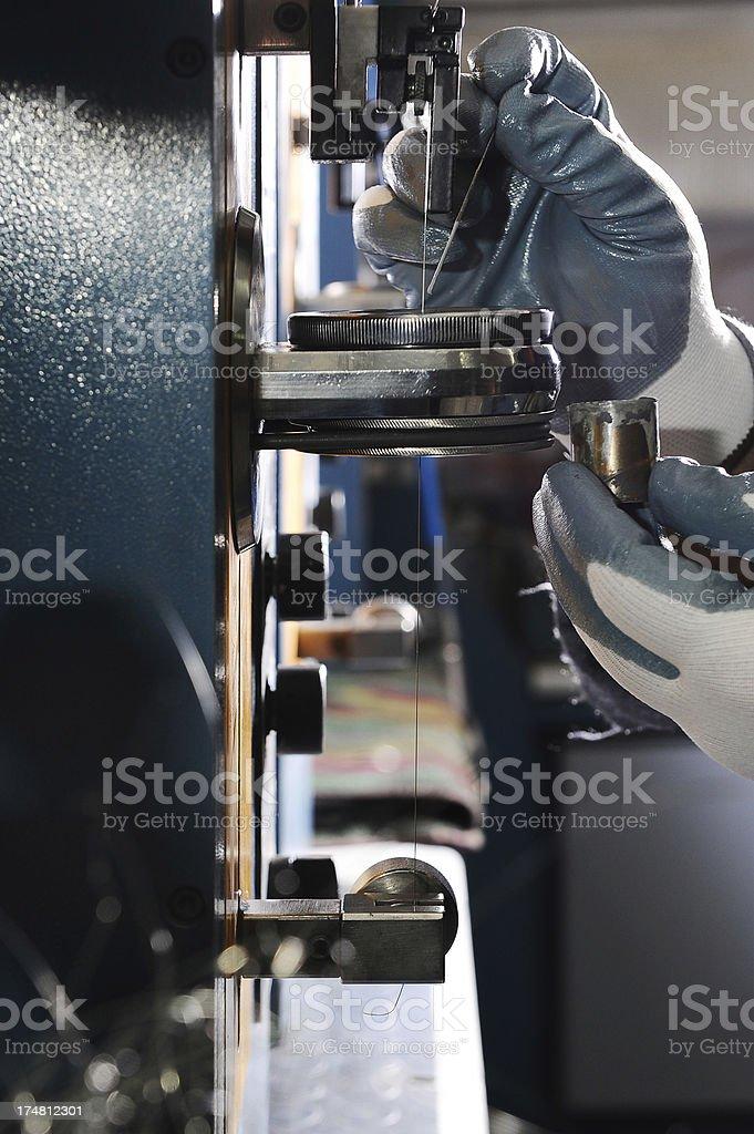Lubrication stock photo
