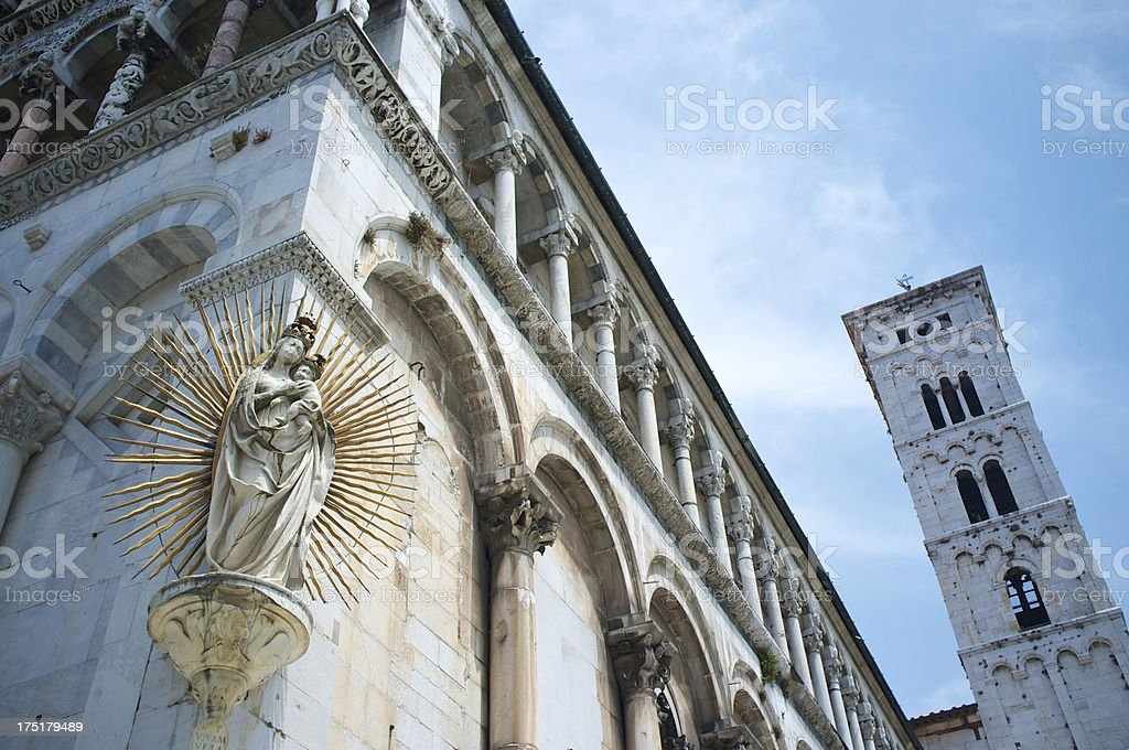 Lucca, Italy royalty-free stock photo