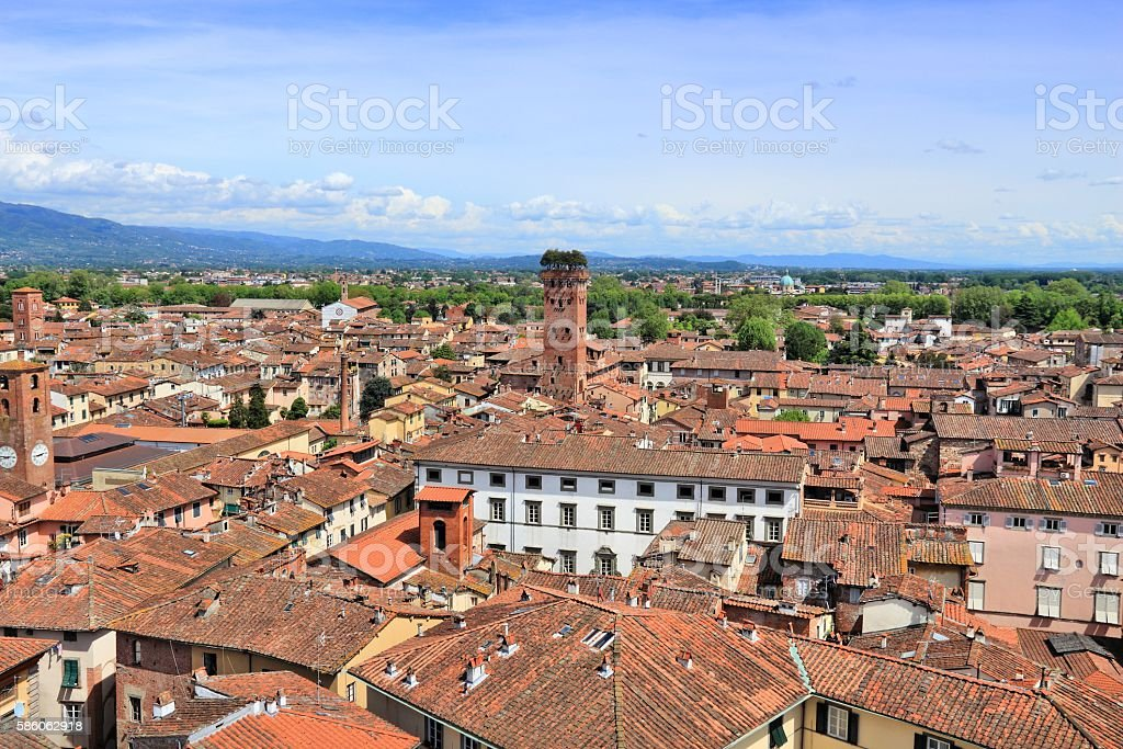 Lucca, Tuscany stock photo