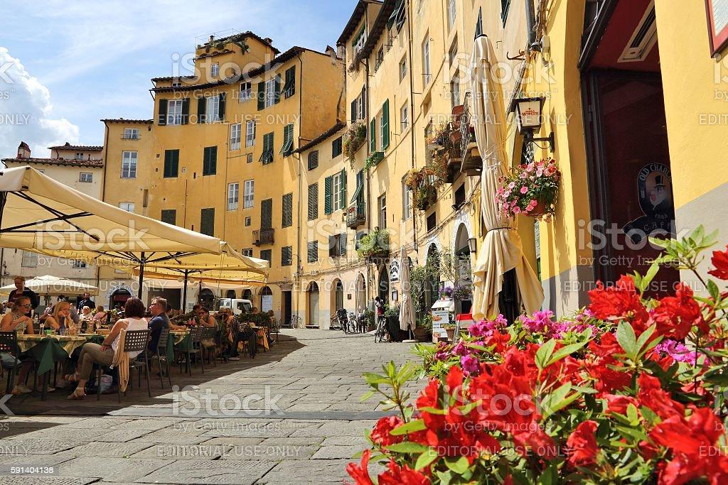 Lucca, Tuscany stock photo