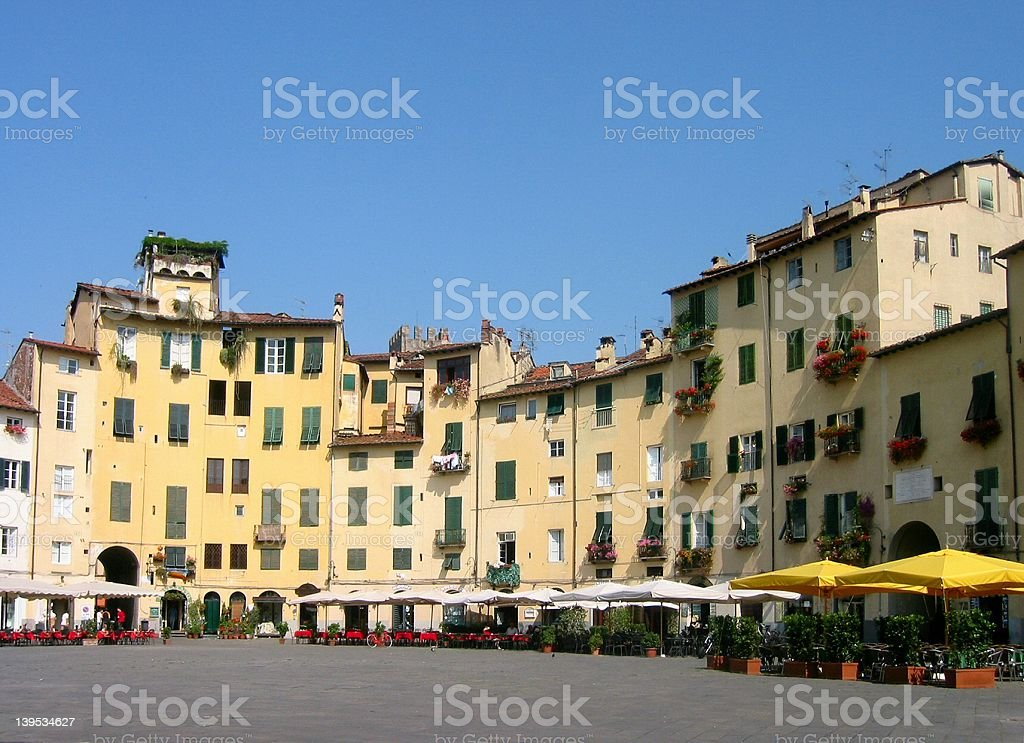 Lucca-Italy stock photo