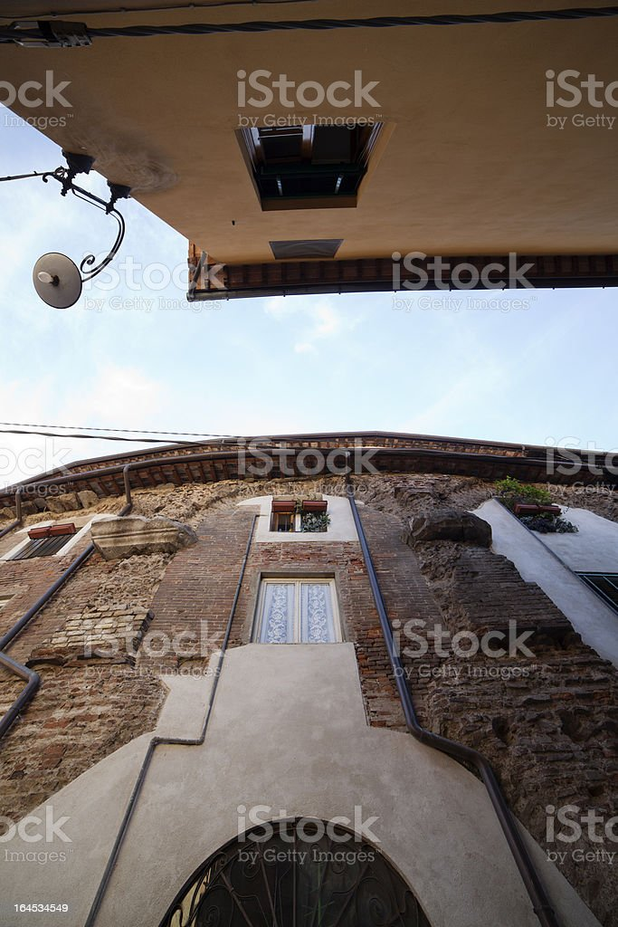 Lucca's alley royalty-free stock photo