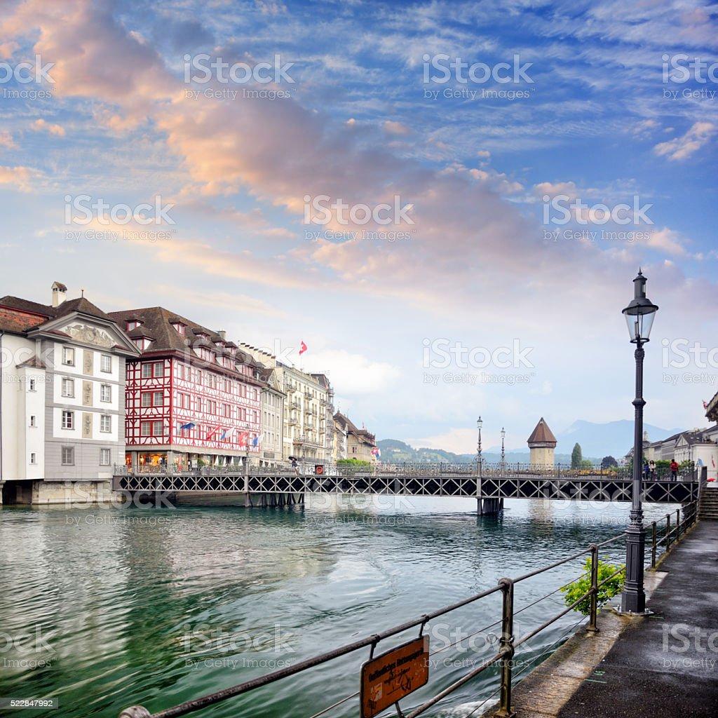 Lucerne, Switzerland stock photo