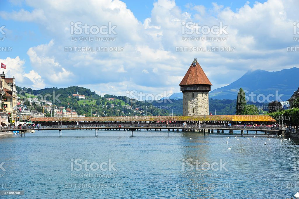 Lucerne/Luzern City View royalty-free stock photo