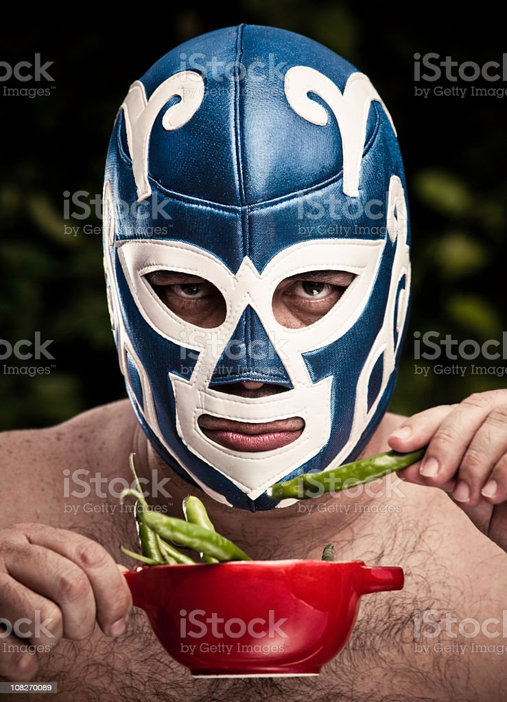 Lucha libre figther royalty-free stock photo
