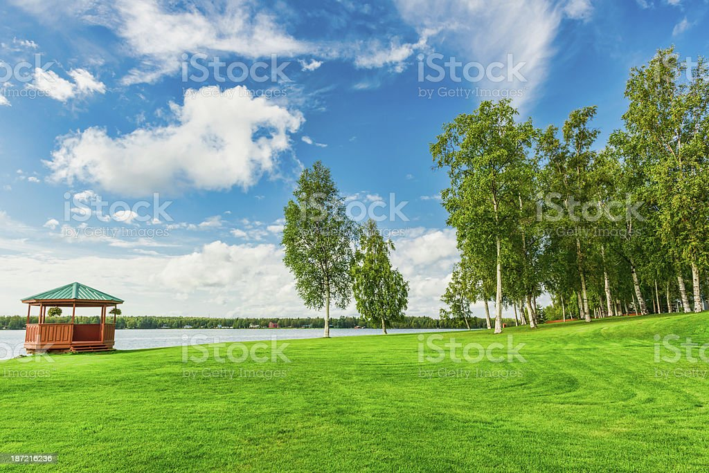 Lucile Lake stock photo