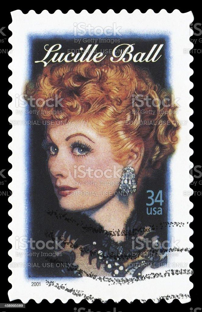 Lucille Ball stock photo