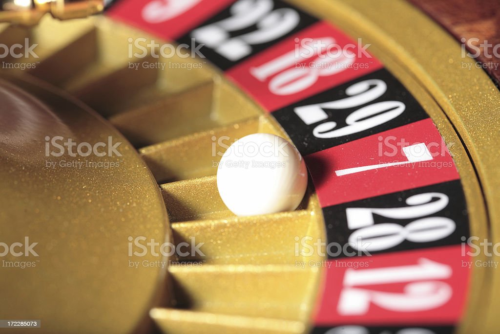luck number seven royalty-free stock photo