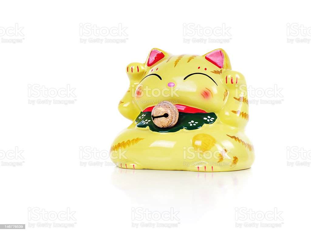 Lucky Cat royalty-free stock photo