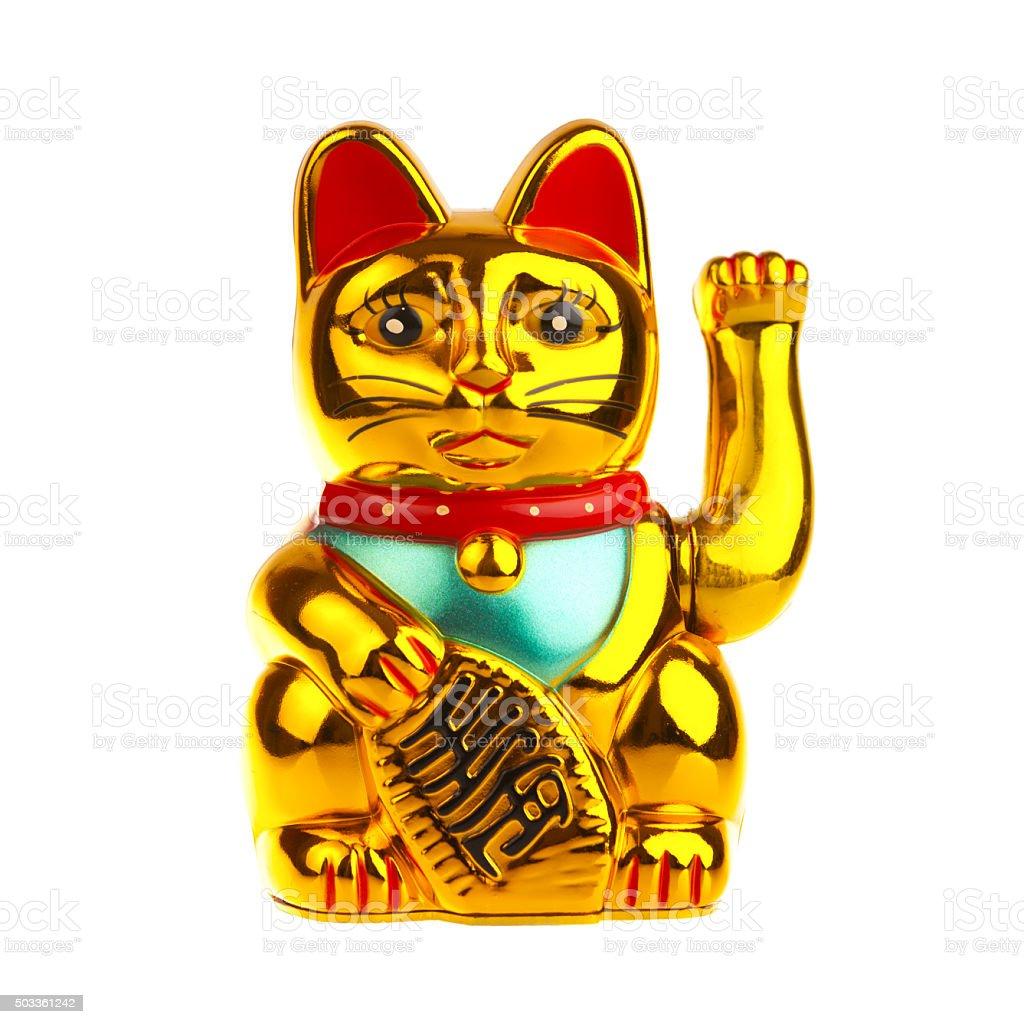 Lucky Chinese Cat stock photo