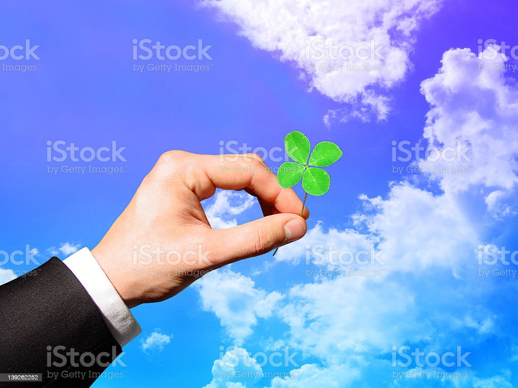 Lucky Day stock photo