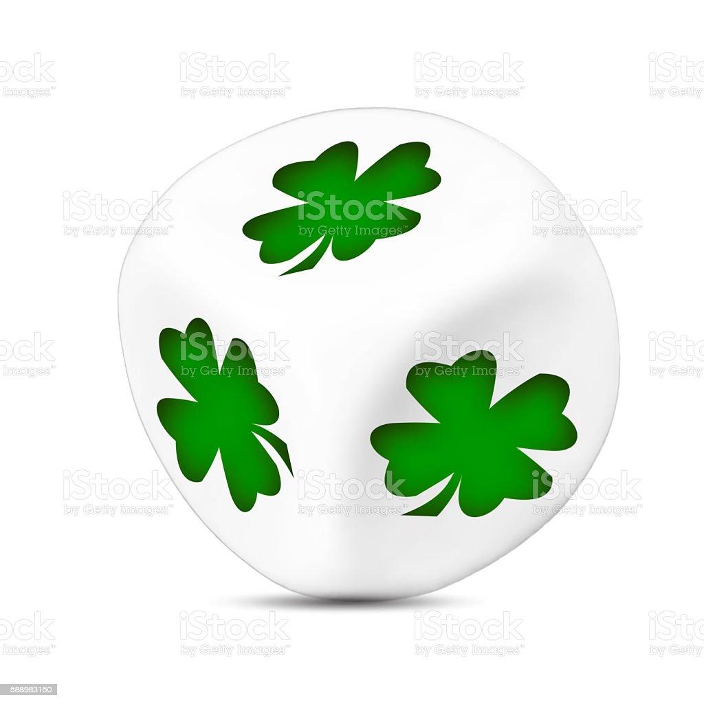 lucky dice stock photo
