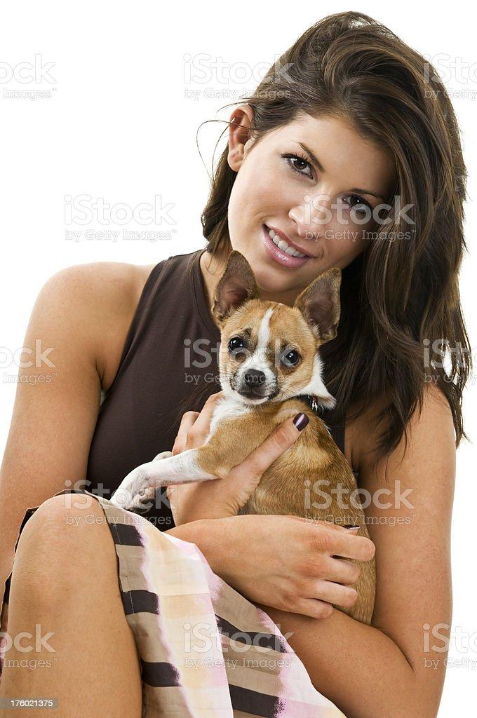 Lucky Dog stock photo