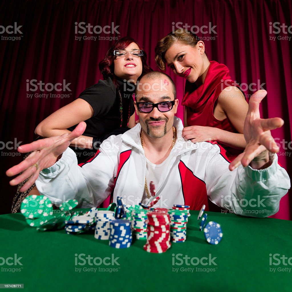 Lucky Gambling royalty-free stock photo