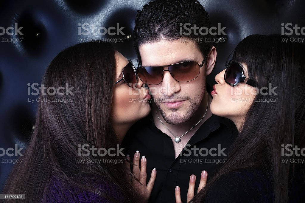 Lucky Guy royalty-free stock photo