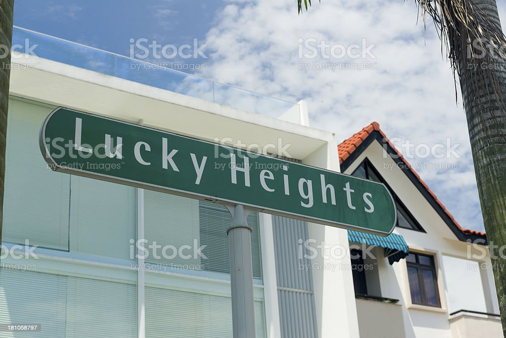Lucky Heights royalty-free stock photo