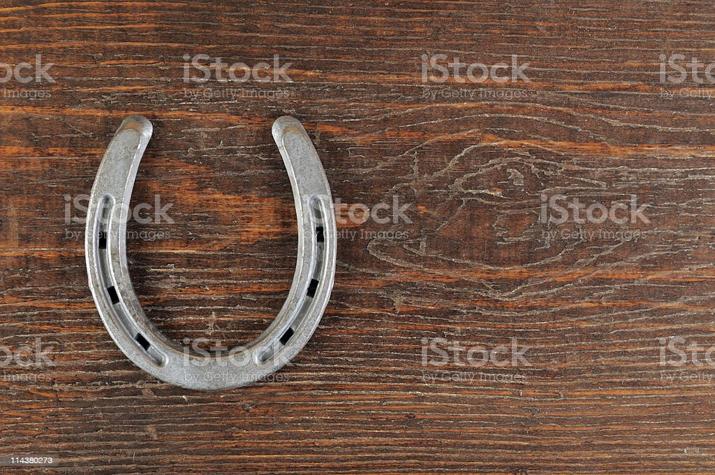 Lucky Horseshoe royalty-free stock photo