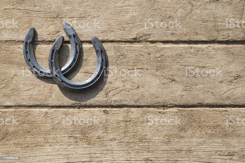 Lucky Horseshoes stock photo