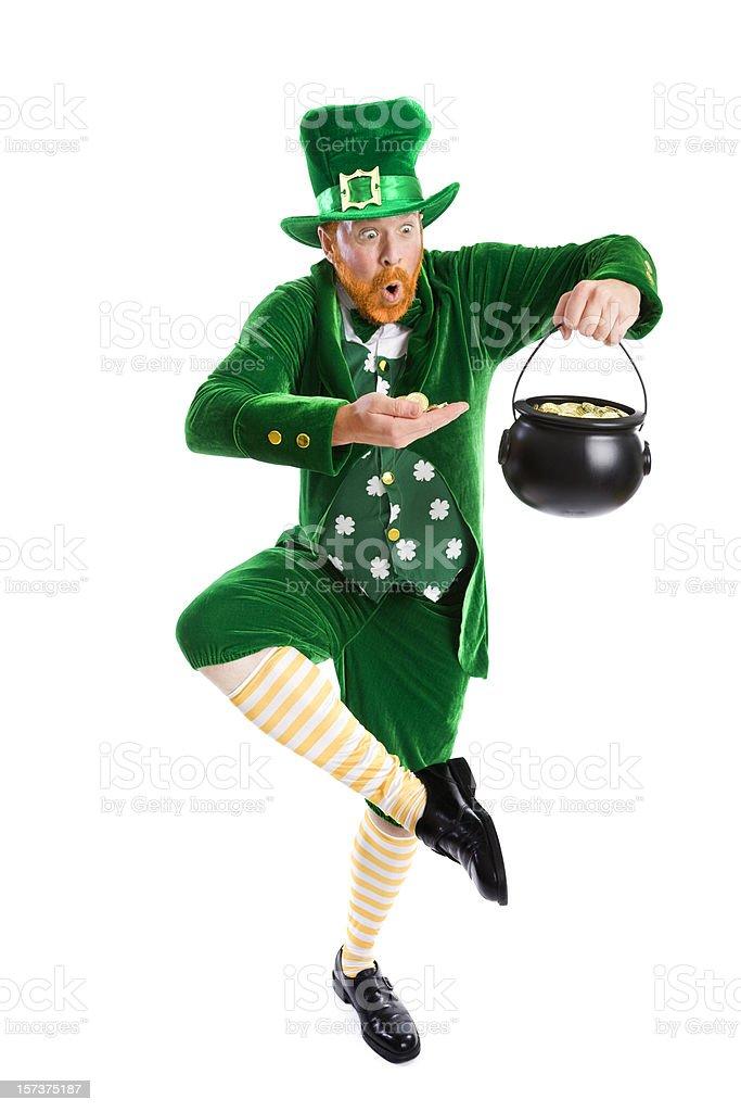 Lucky Leprechaun stock photo
