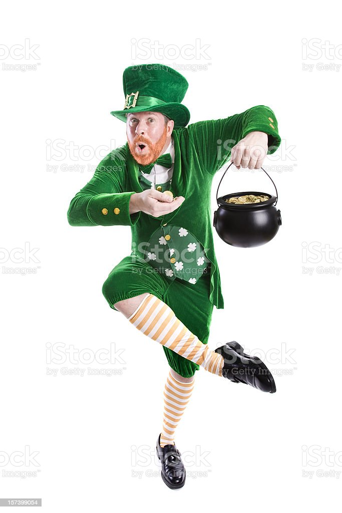Lucky Leprechaun stock photo