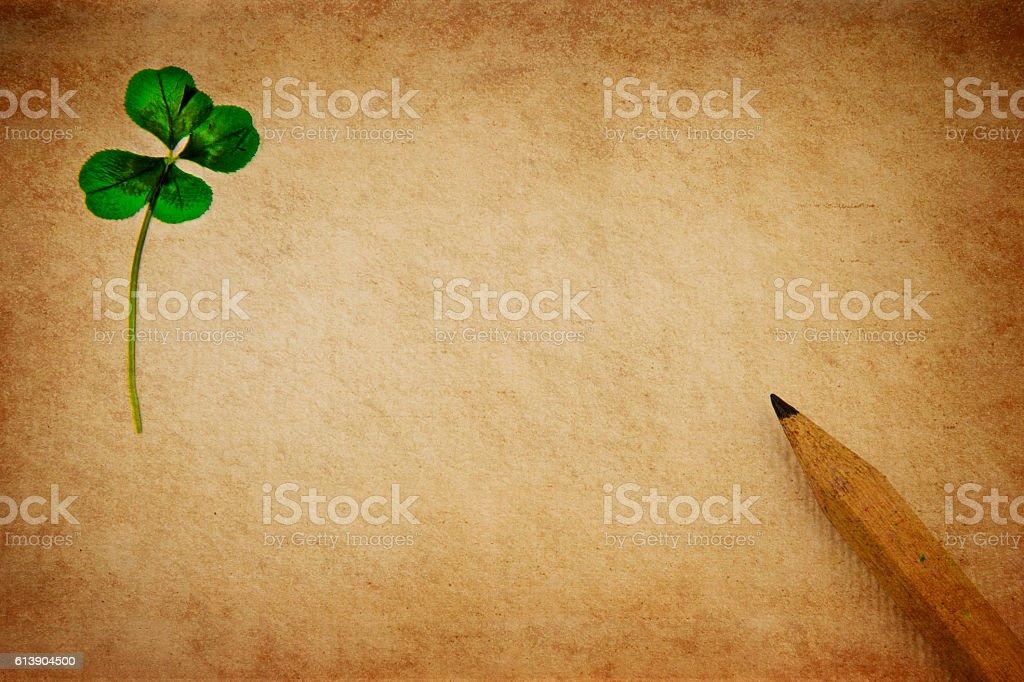 Lucky letter stock photo