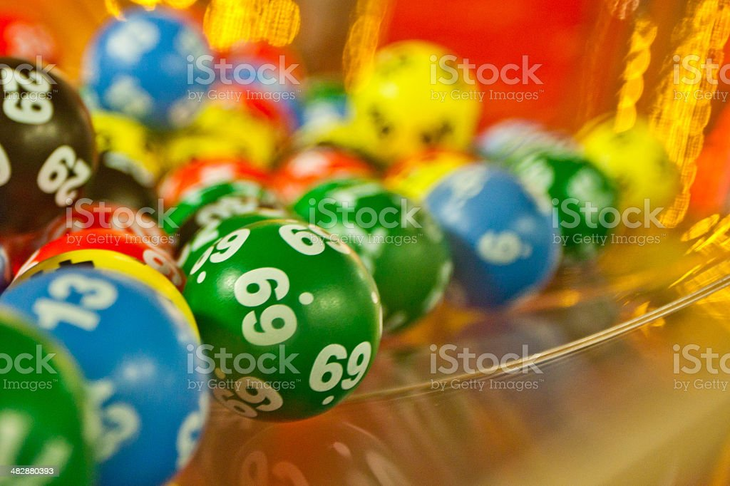 Lucky number 69 stock photo