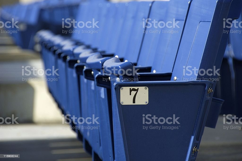 Lucky Seat royalty-free stock photo