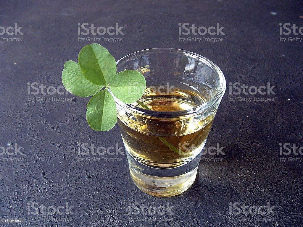 Lucky Shot royalty-free stock photo