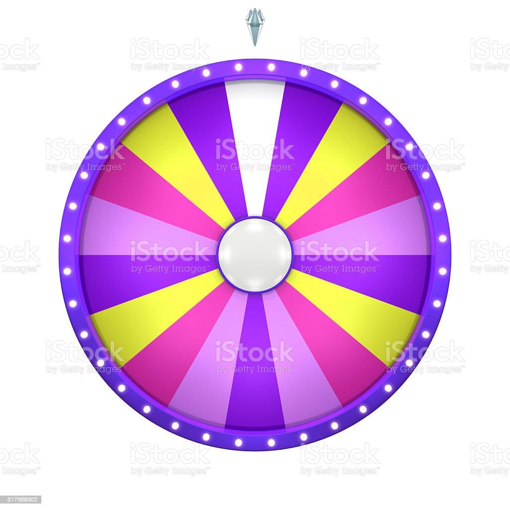 lucky spin 18 area purple stock photo
