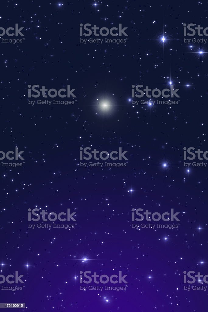Lucky Star royalty-free stock photo