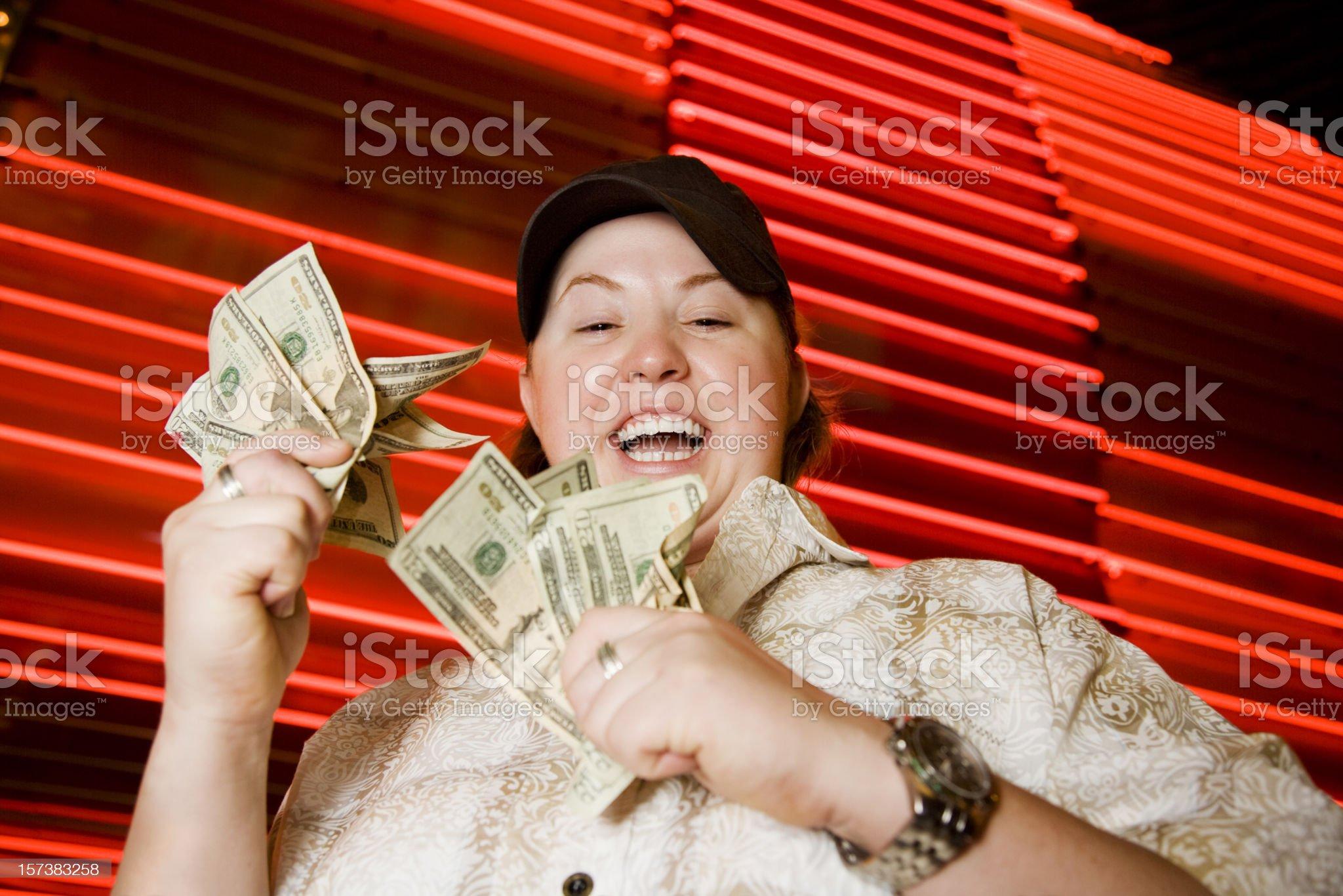 Lucky Winner royalty-free stock photo