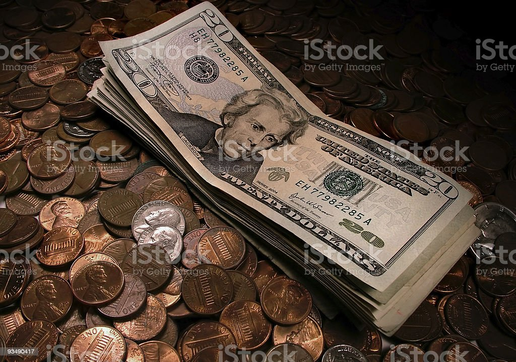 Lucre stock photo