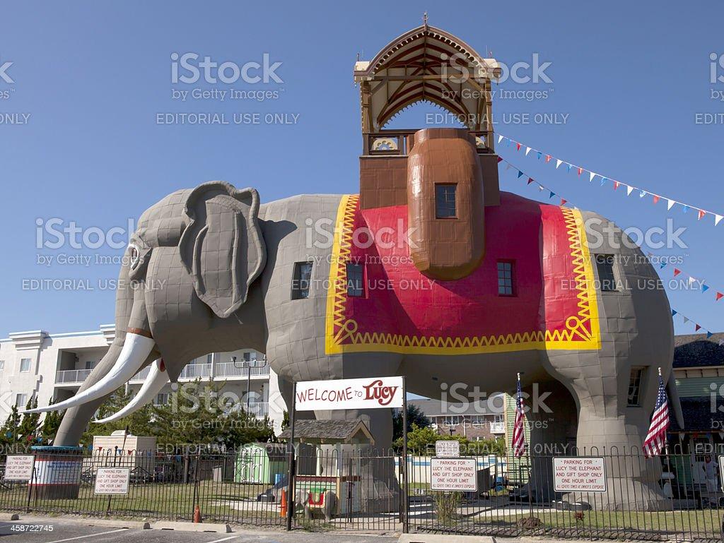 Lucy the Elephant stock photo