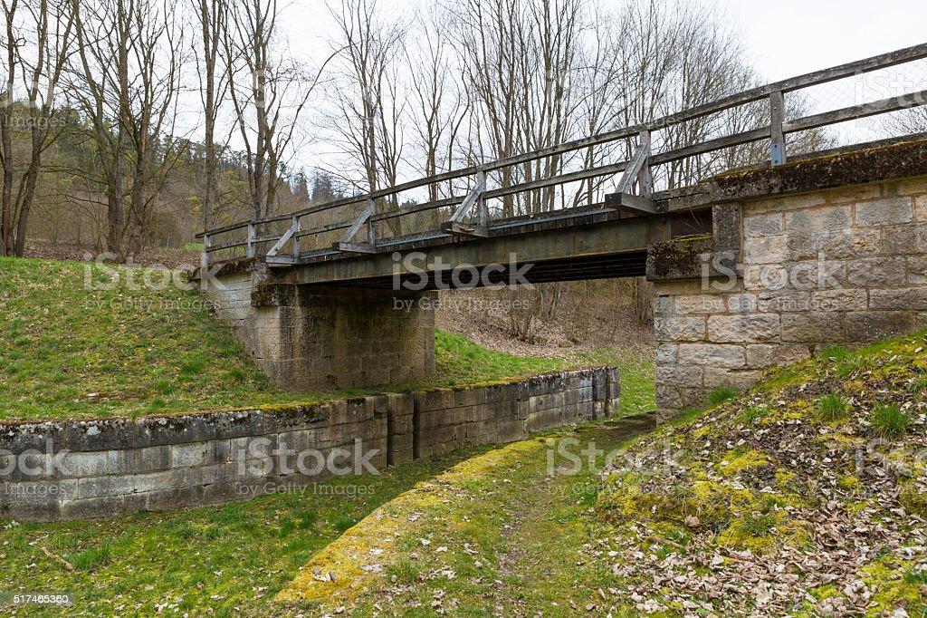 Ludwig Main Donau canal stock photo