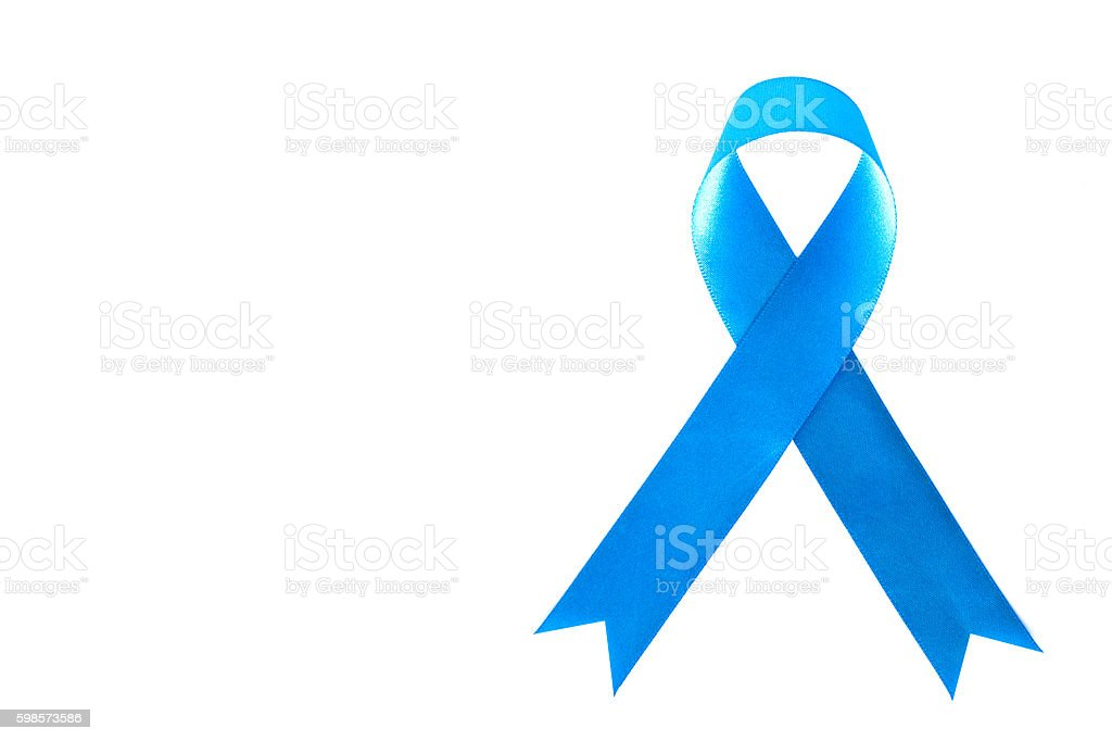 lue Ribbon. Pancreatic Cancer awareness. healthcare and medicine concept stock photo