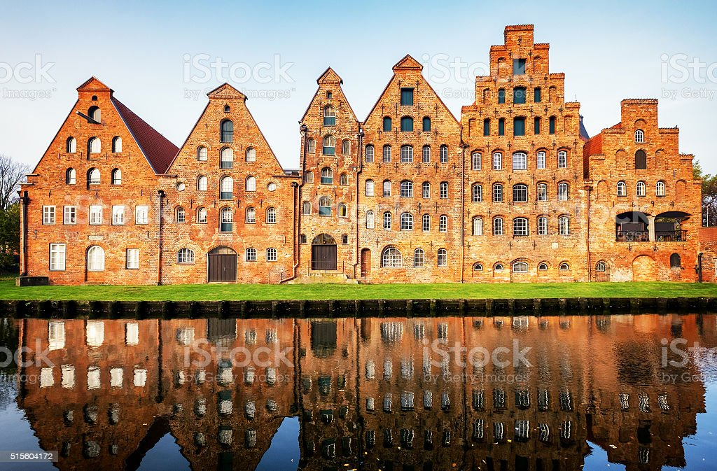 luebeck - germany stock photo