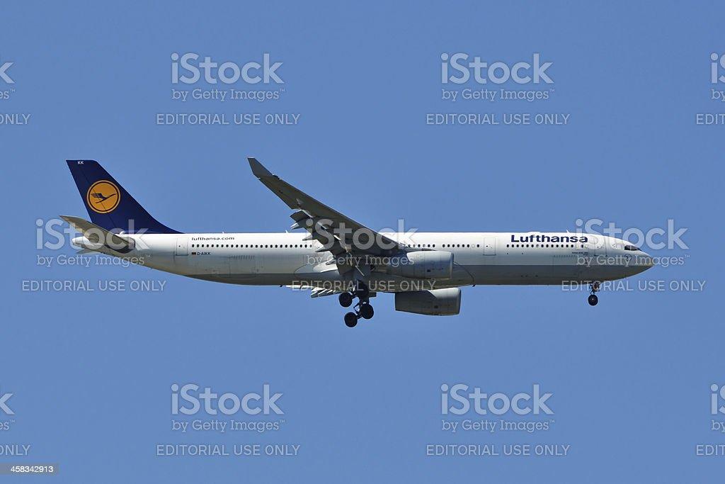 Lufthansa Airbus A330 stock photo