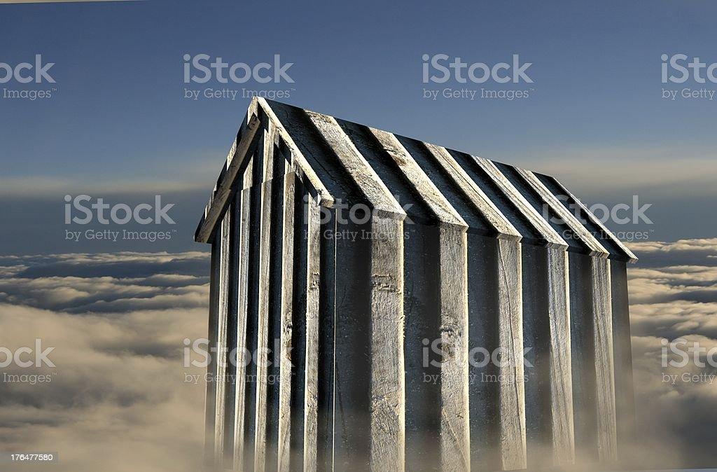 Luftschloss stock photo