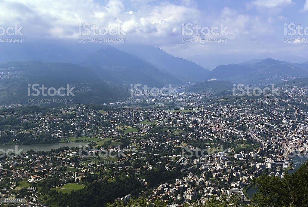 Lugano, Switzerland stock photo