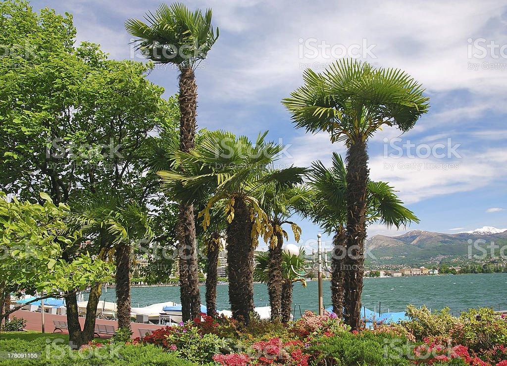 Lugano,Ticino Canton,Switzerland royalty-free stock photo