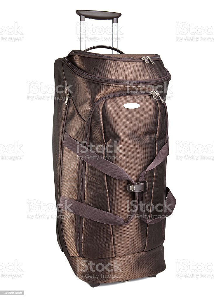 Luggage bag for travelings stock photo