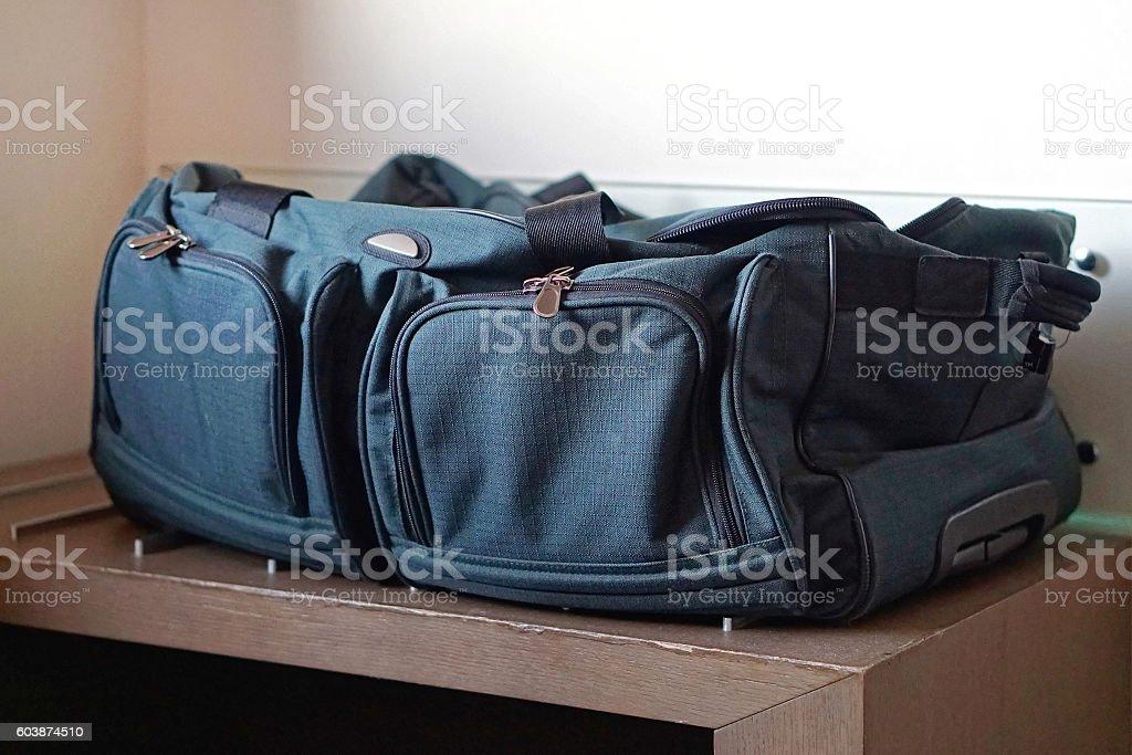 Luggage bag stock photo