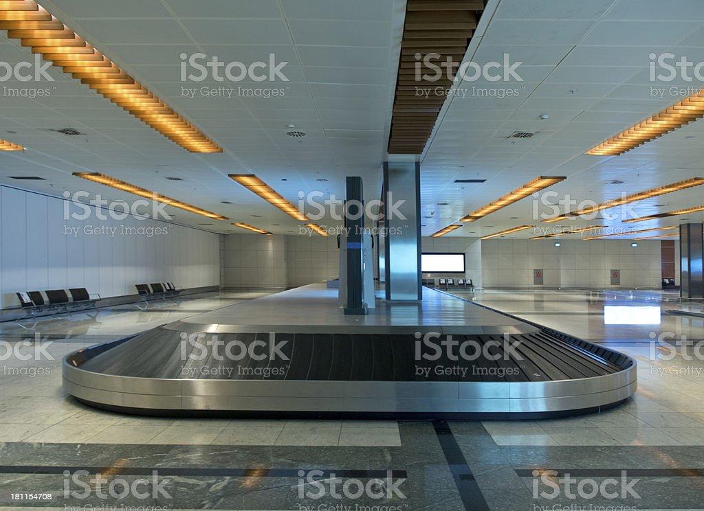 Luggage Belt royalty-free stock photo
