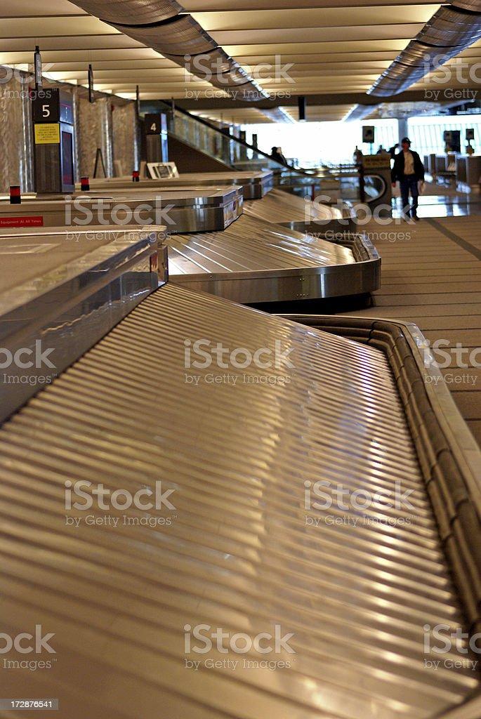 Luggage Conveyor stock photo