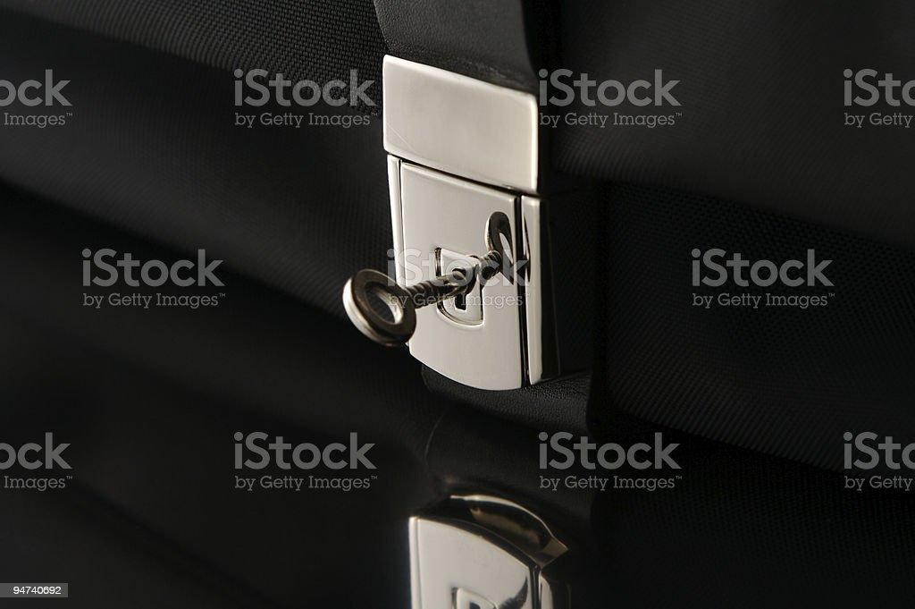 Luggage lock stock photo