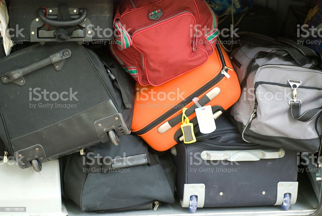 luggage - Viele Koffer royalty-free stock photo