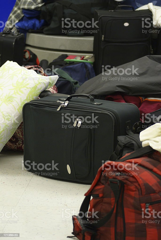 Luggage royalty-free stock photo