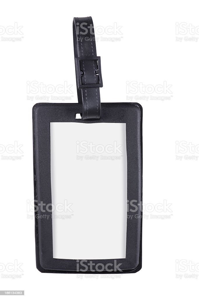 Luggage Tag royalty-free stock photo