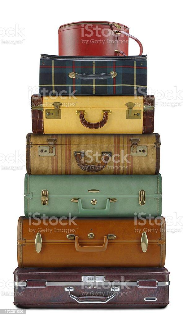 Luggage Tower stock photo